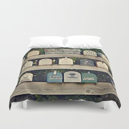 Mailboxes Duvet Cover