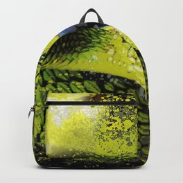 Green Viper Snake Backpack