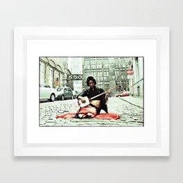 WHERE IS MISS CUBA Framed Art Print