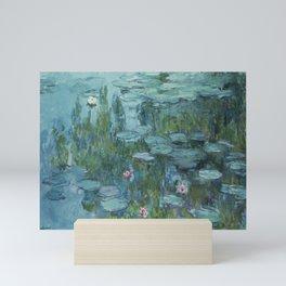 Nymphéas, Claude Monet Mini Art Print