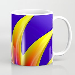 Crown Fractal Coffee Mug