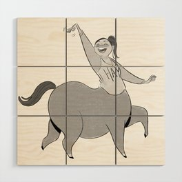 Hay! Wood Wall Art