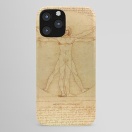 Leonardo da Vinci - Vitruvian Man iPhone Case