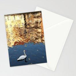 Reflector Swan II Stationery Cards
