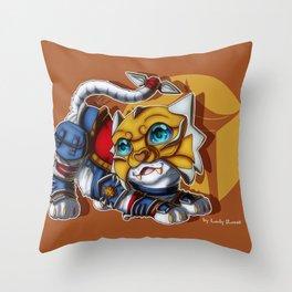 Shado-Pan Tiger Throw Pillow