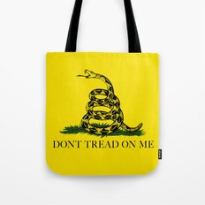 The Gadsden Don't Tread On Me Flag, High Quality Tote Bag