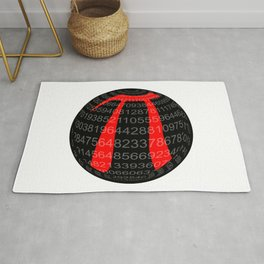 Pi Isolated Sphere Rug