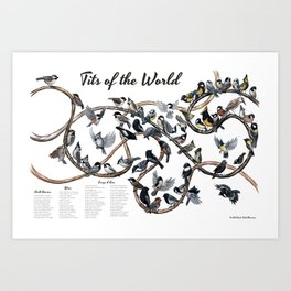 Tits of the World Art Print
