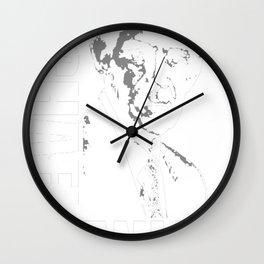 Michael Manley Wall Clock