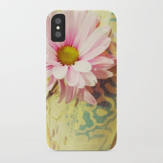 Vintage Daisy iPhone Case