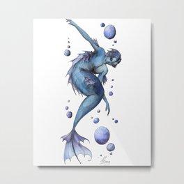 Mermaid 13 Metal Print