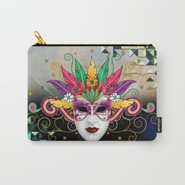Mystery Mask Carry-All Pouch