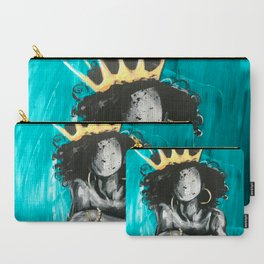 Naturally Queen IX TEAL Carry-All Pouch