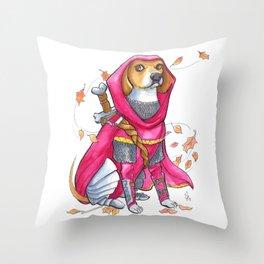 DogDays19 Roxi Throw Pillow