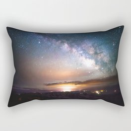 Nights Sky Awakens Rectangular Pillow