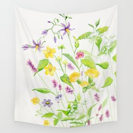 Wildflower 2 Wall Tapestry