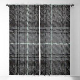 Highland Granite Tartan Blackout Curtain