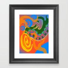 Untitled Absract Framed Art Print
