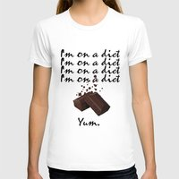 chocolate T-shirts featuring Chocolate by Thomsky