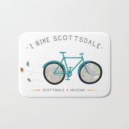 Scottsdale, Arizona by I Bike Bath Mat