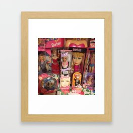 #BarbieLou with tomodachi  Framed Art Print