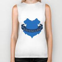 ravenclaw Biker Tanks featuring Ravenclaw by konchoo