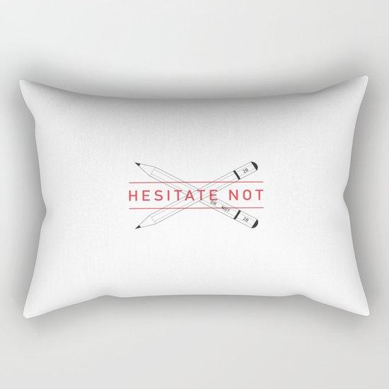 2B or not 2B Rectangular Pillow