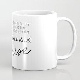 I'll rise #minimalism Coffee Mug
