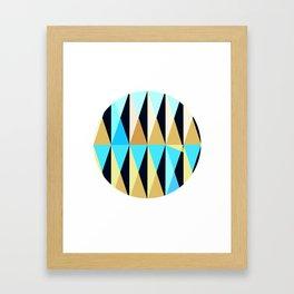 sphere no. 1 Framed Art Print