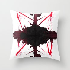 S p l a t t e r Throw Pillow