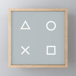 Gamer in the Fog Framed Mini Art Print