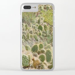 Cactus for days Clear iPhone Case