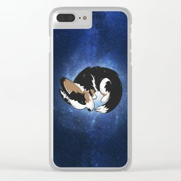 Cardigan Galaxy Clear iPhone Case