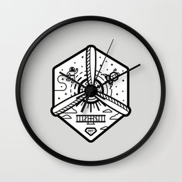 Birthplace of Aviation - Neutral Wall Clock