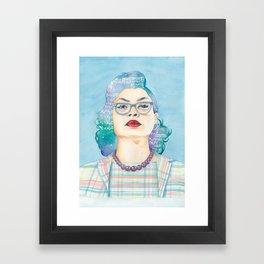 Katherine Johnson Hidden Figures Framed Art Print