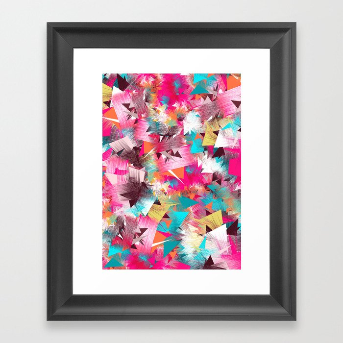 Colorful Place Framed Art Print
