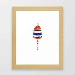 Buoy - No. TB12 Framed Art Print