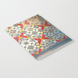 Detroit People Mover Art Broadway Fort and Cass Notebook