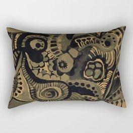 old painting Rectangular Pillow