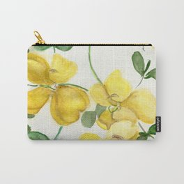 Butterflies and Blooms Carry-All Pouch