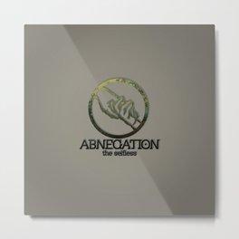 Abnegation Metal Print