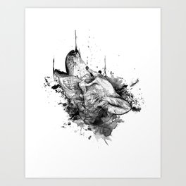 We Are One by Pentasticarts Art Print