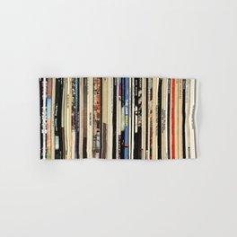 Classic Rock Vinyl Records Hand & Bath Towel