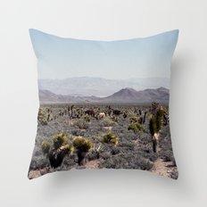 Cold Creek Horses Throw Pillow