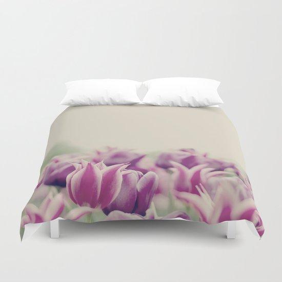 Tulips II Duvet Cover