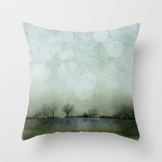 Dreamscape - The Journey Begins Throw Pillow