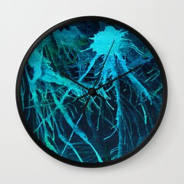 Lake Depths Wall Clock