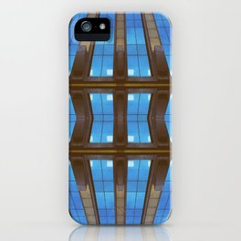 Bended Buildings iPhone Case