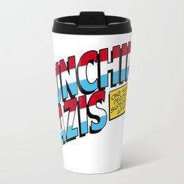 One hundred percent of superheroes approve! Travel Mug