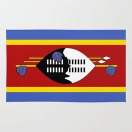 Swaziland Flag Rug